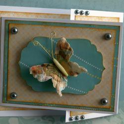 Składak z motylem