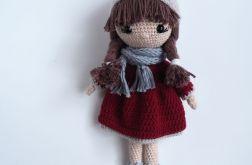 Szydełkowa lalka Ada dla dziewczynki