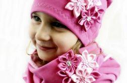 Ciemnoróżowy komplet dla dziewczynki