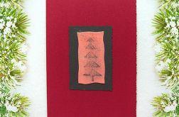 Kartka  świąteczna minimalizm 3