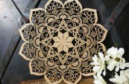 Drewniana mandala klasyczna