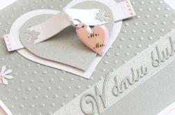 Kartka ślubna 076 - z zawieszką