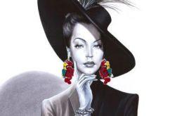Madame Chic kolczyki i wisiorek
