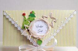 Kartka świąteczna, bożonarodzeniowa 1
