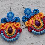 Kolczyki kolorowe 2 - kolczyki ożywią nawet najprostszą stylizację