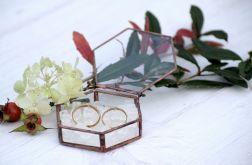 Szkatułka na obrączki ślubne