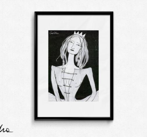 Królowa - plakat A3