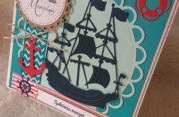kartka faceta 40 30 25 urodziny żeglarska