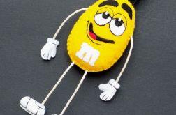Breloczek żółty M&M`s