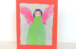 Kartka aniołek