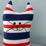 Mały Kociak  w paski - maskotka