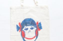 Bawełniana torba z bużką, eko torba