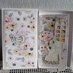 Kartka ślubna DL - Kartka w pudełku