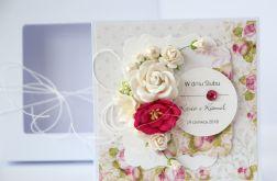 Kartka ślubna z personalizacją + pudełko 6