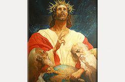 Piękny obraz na płótnie Jezusa Chrystusa Boga