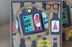 Kartka urodzinowa z piwem KU079