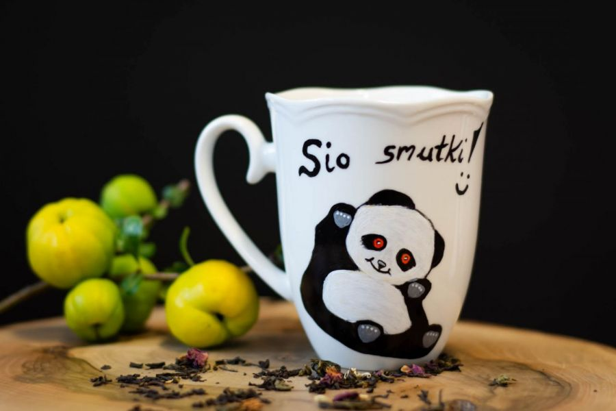 Porcelanowy Kubek - Sio Smutki