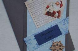Kartka świąteczna Gwiazdor