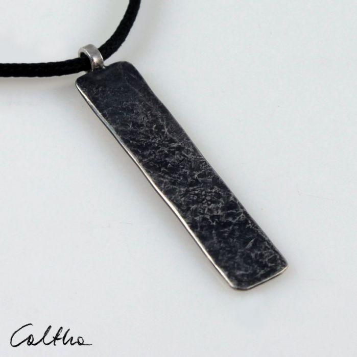 Kamień - srebrny wisiorek 200117-02