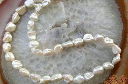 Naszyjnik z pereł naturalnych