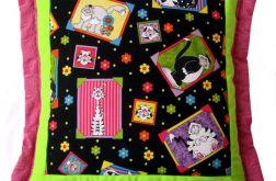 poduszka -wesołe kotki
