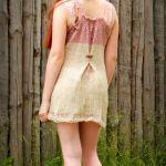 SUMMER DRESS COUNTRY / dzianinowa sukienka