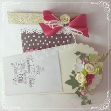 Kartka dla Mamy...doniczka pełna kwiatów1