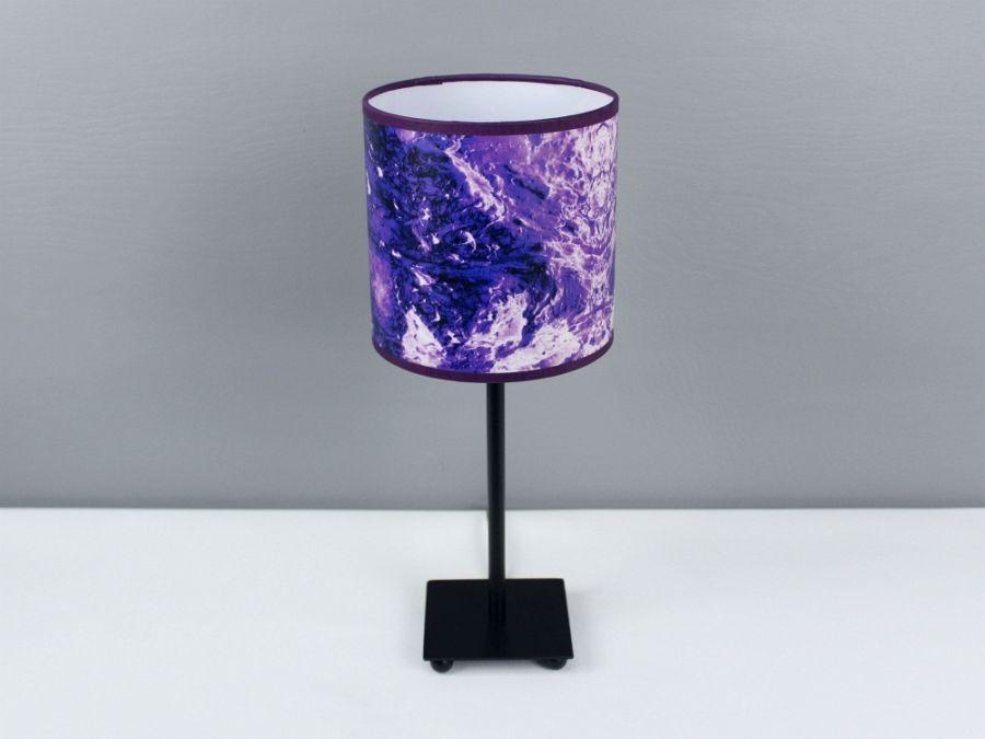 "Fioletowa lampa nocna ""tERRAFORM violet"" S - Lampa tERRAFORM violet S."