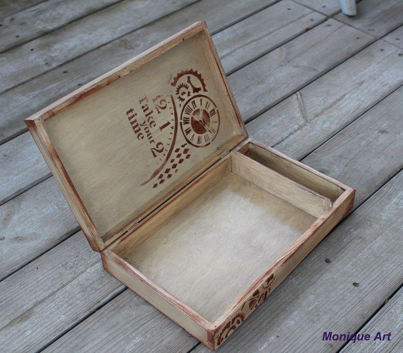 Pudełko na zdjęcia i pendrive, dla miłośnika podróży