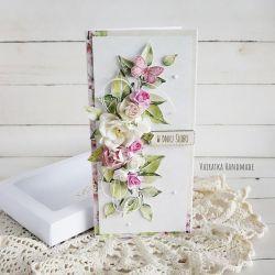 Kartka ślubna w pudełku, 503