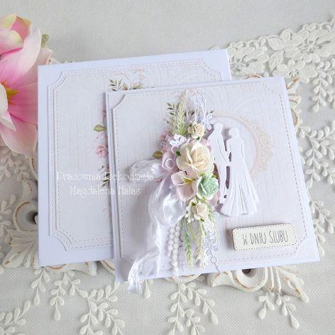 Ślubna kartka  w pudełku 262