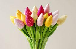 Tulipany żółto różowe