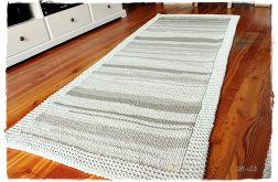Dywanik ze sznurka bawełnianego w beżach