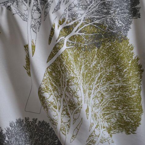 Orus 160 x 136 cm drzewa czarno-oliwkowe