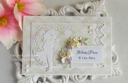 Pamiątka ślubna w kopercie