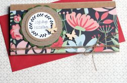 kartka - kopertówka ŚLUBNA :: meadow