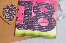 18-te urodziny : kartka na osiemnastkę ARBUZ