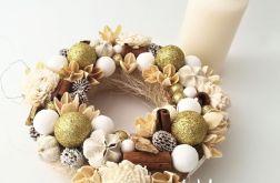 Złotko - wianek świąteczny