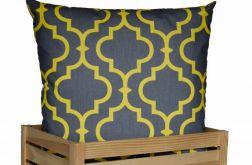 Ozdobna bawełniana poduszka ~ Maroko&yel&gr