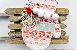 Rękawiczka norweska na Święta