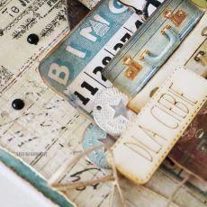 Męska kartka z walizkami, 591