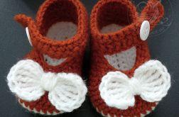 Sandałki szydełkowe