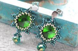 Zielone kryształki