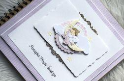 Album na Chrzest Święty 40 stron dziewczynka