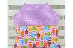 Poduszka dla dziecka - Domek Sowy