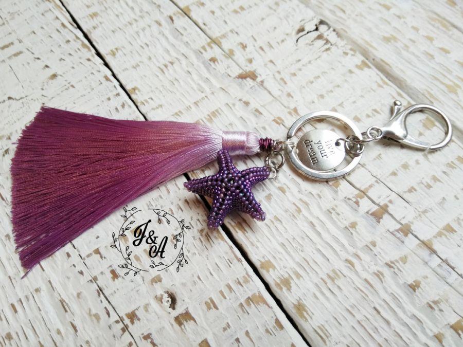 rozgwiazda z chwostem- fiolet
