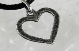 Serduszko - srebrny wisior 180206-02
