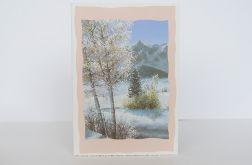 Kartka  zimowy pejzażyk nr 5