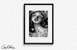 Kwiaty - plakat A3