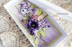Kartka urodzinowa z motylkami, 545